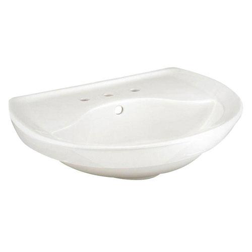American Standard Ravenna 6 inch Pedestal Sink Basin in White 453025
