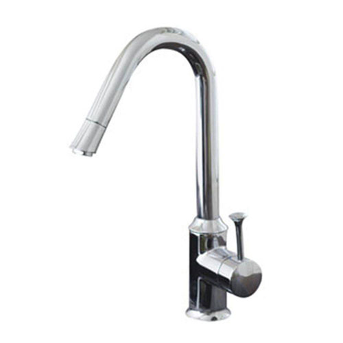 American Standard Pekoe Single-Handle Kitchen Faucet in Polished Chrome 466043