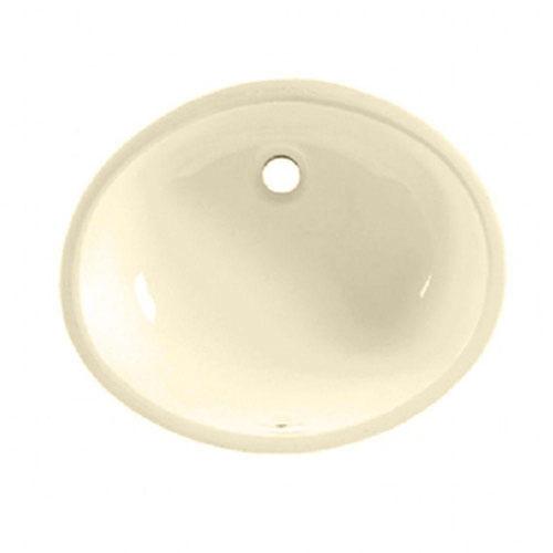 American Standard Ovalyn Undermount Bathroom Sink in Bone 471009
