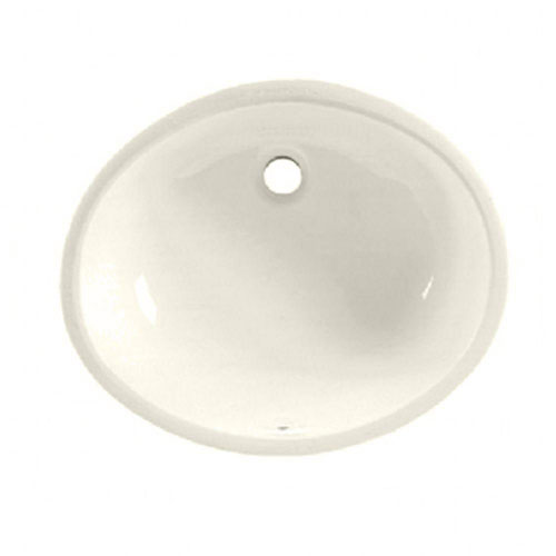 American Standard Ovalyn Undermount Bathroom Sink in Linen 471033