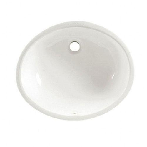 American Standard Ovalyn Undermount Bathroom Sink in White 471061