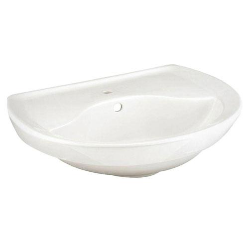 American Standard Ravenna 6 inch Pedestal Sink Basin in White 478973