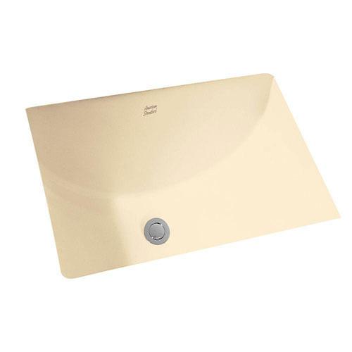 American Standard Studio Rectangular Undermount Bathroom Sink in Bone 483953