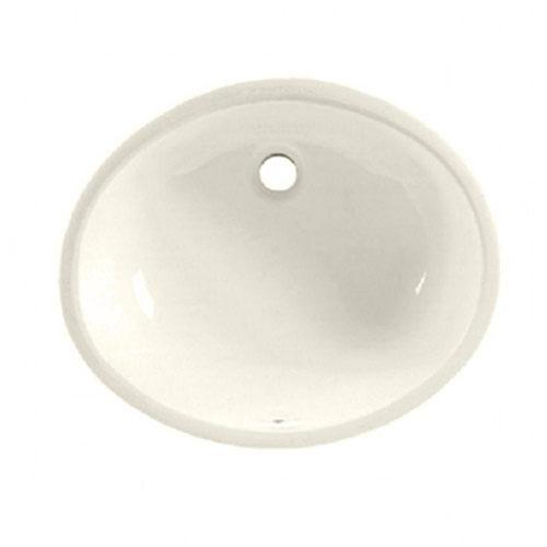American Standard Ovalyn Undermount Bathroom Sink in Linen 488533