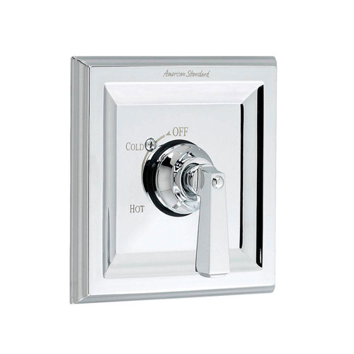 American Standard Town Square 1-Handle Bath/Shower Valve Only Trim Kit in Polished Chrome (Valve Not Included) 502185