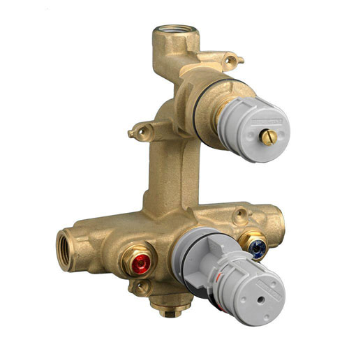 American Standard Ceratherm Rough Valve Body with 1/2 NPT Inlets/Outlets, 7.2 GPM at 40 PSI 502317