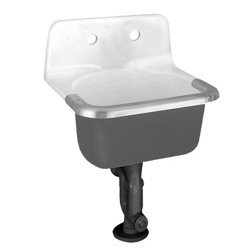 American Standard Lakewell Wall-Mount Bathroom Sink in White 505937