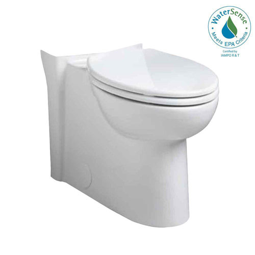 American Standard Cadet 3 Flowise Concealed Trapway Right Height Elongated Toilet Bowl Only in White 512952