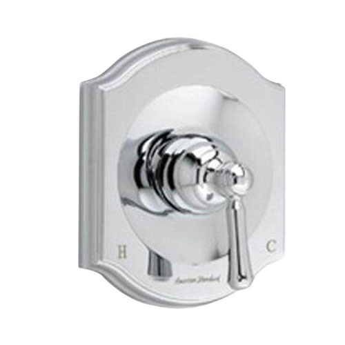American Standard Portsmouth Single-Handle Bath/Shower Valve Only Trim Kit in Polished Chrome with Square Escutcheon (Valve Not Included) 513198