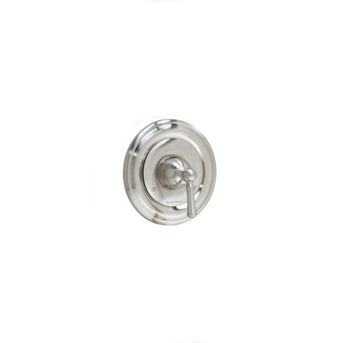 American Standard Portsmouth 1-Handle Valve Trim Kit in Satin Nickel with Round Escutcheon (Valve Not Included) 513228