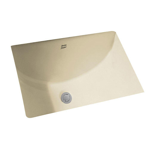 American Standard Studio Rectangular Undermount Bathroom Sink in Linen 519665