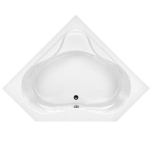 American Standard Colony 5 foot Acrylic Center Drain Bathtub in White 525985