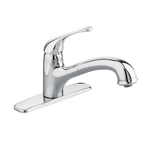 American Standard Colony Soft Single-Handle Pull-Out Sprayer Kitchen Faucet in Polished Chrome 531789