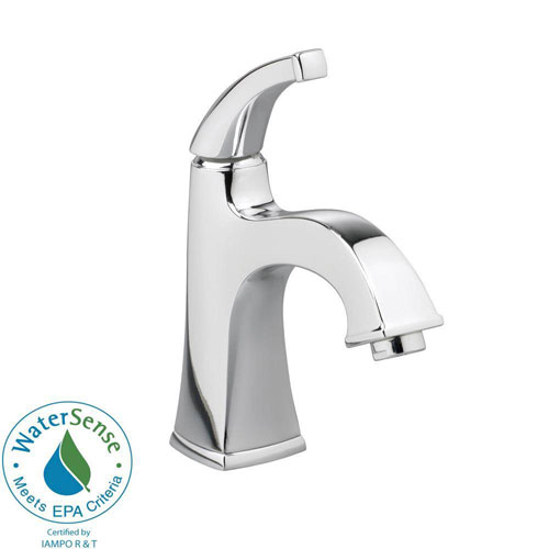 American Standard Town Square Monoblock Single Hole 1-Handle Mid-Arc Bathroom Faucet in Polished Chrome 541480