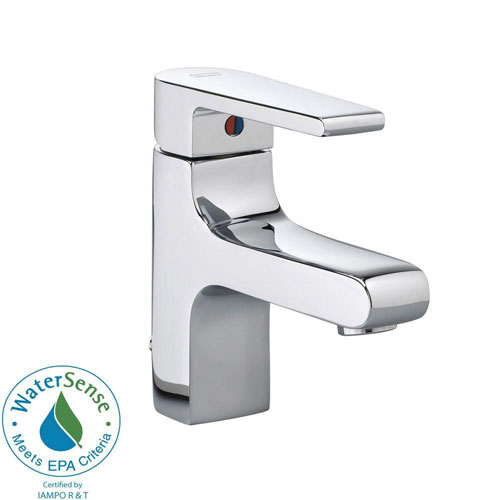 American Standard Studio Monoblock Single Hole 1-Handle Mid-Arc Bathroom Faucet in Polished Chrome 541835