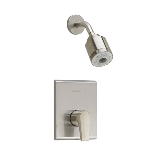 American Standard Studio 1-Handle 3-Function Shower Faucet Trim Kit in Satin Nickel with Less Rough Valve Body 541968
