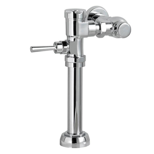 American Standard Manual 1.28 GPF FloWise Flush Valve for 1.5 inch Top Spud Toilet in Polished Chrome 557222