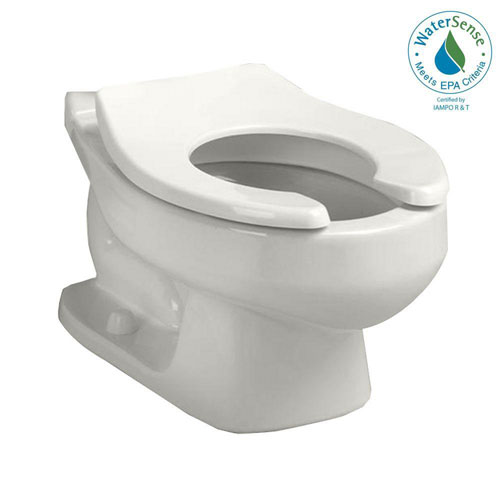 American Standard Baby Devoro 1.28 GPF Round Front Toilet Bowl Only in White 560427