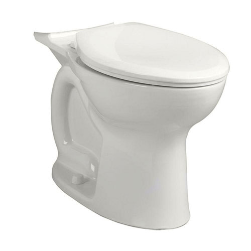 American Standard Cadet PRO 1.6 GPF Right Height Elongated Toilet Bowl Only in White 570858