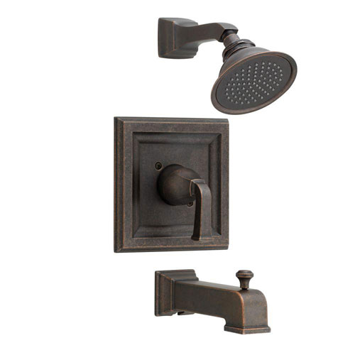 American Standard Town Square 1-Handle Tub and Shower Trim Kit with Volume Control in Oil Rubbed Bronze (Valve Not Included) 574615