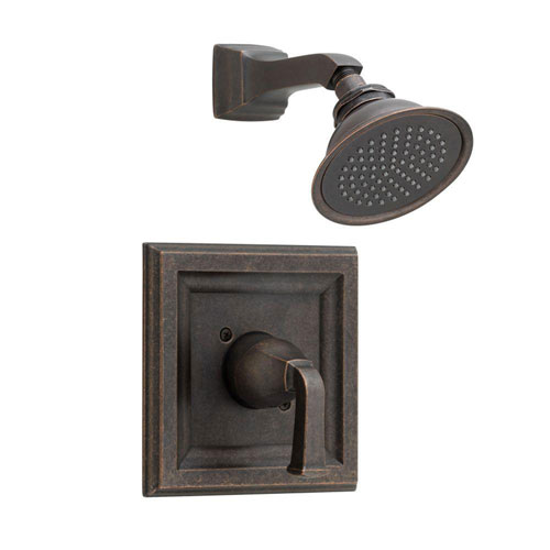American Standard Town Square 1-Handle Shower Faucet Trim Kit with Volume Control in Oil Rubbed Bronze (Valve Not Included) 574616