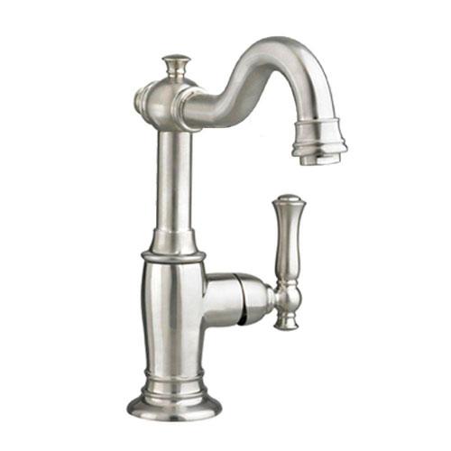 American Standard Quentin Monoblock Single Hole 1-Handle Bathroom Faucet in Satin Nickel 574679