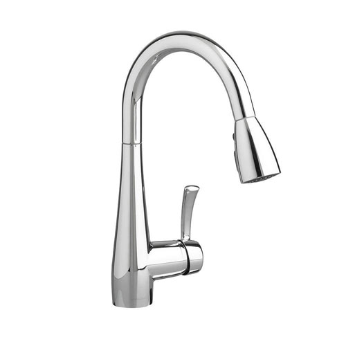 American Standard Quince Single-Handle Pull-Down Sprayer Kitchen Faucet in Polished Chrome 574730