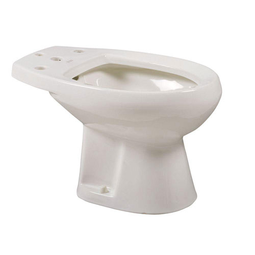 American Standard Cadet Round Bidet in White for Deck Mounted Fitting 576