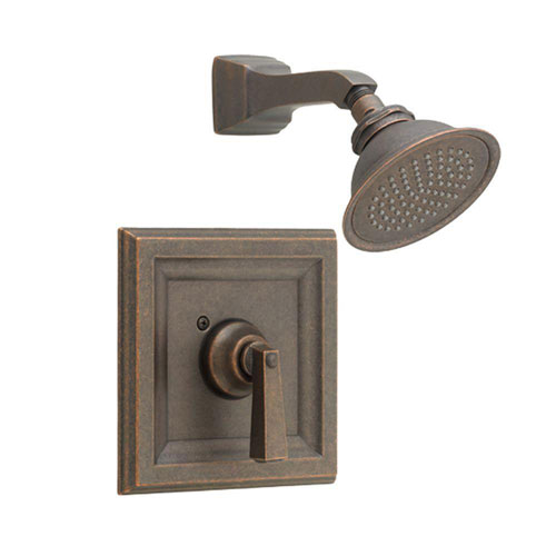 American Standard Town Square 1-Handle Shower Faucet Trim Kit for Cycle Valve in Oil Rubbed Bronze (Valve Not Included) 584891