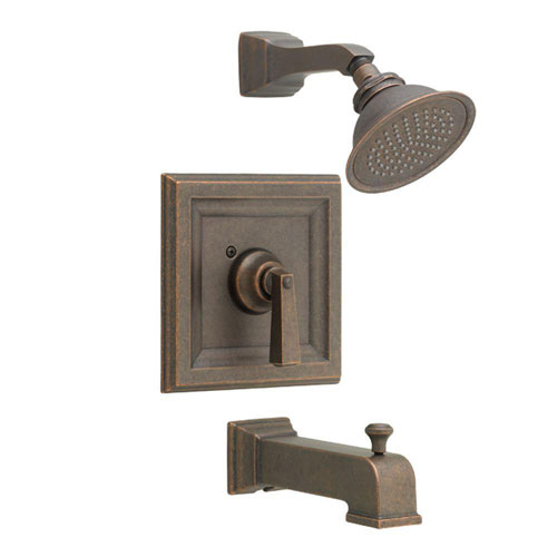 American Standard Town Square 1-Handle Tub and Shower Trim Kit for Cycle Valve in Oil Rubbed Bronze (Valve Not Included) 584892