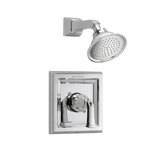 American Standard Town Square 1-Handle Shower Faucet Trim Kit with Volume Control in Polished Chrome (Valve Not Included) 584894