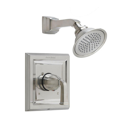 American Standard Town Square 1-Handle Shower Faucet Trim Kit with Volume Control in Satin Nickel (Valve Not Included) 584895