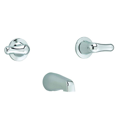 American Standard 3275.505.002 Colony Soft Double-Handle Bath/Tub Fitting with Metal Handles, Chrome 621229