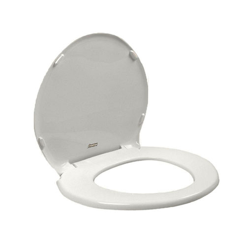 American Standard 5330.010.020 Champion Slow Close Round Front Toilet Seat with Cover, White 629453