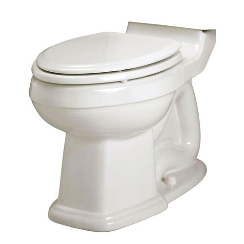 American Standard Portsmouth Champion Right Height Elongated Toilet Bowl Only Less Seat in White 635341