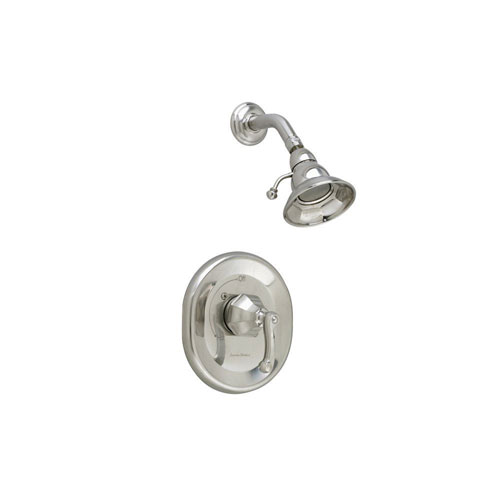 American Standard Dazzle 1-Handle 3-Function Tub and Shower Faucet Trim Kit in Satin Nickel (Valve Not Included) 641237