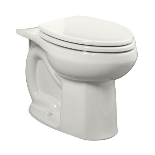 American Standard Colony Universal 1.28 or 1.6 GPF Elongated Toilet Bowl Only in White 663066