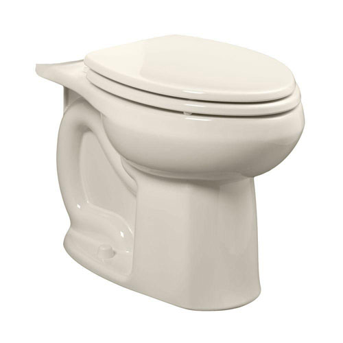 American Standard Colony Universal 1.28 or 1.6 GPF Elongated Toilet Bowl Only in Linen 663068