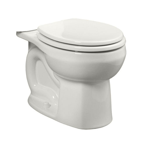 American Standard Colony Universal 1.28 or 1.6 GPF Round Front Toilet Bowl Only in White 663070