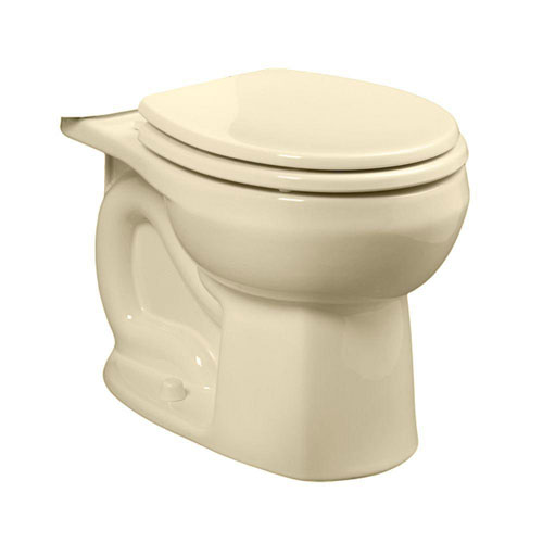 American Standard Colony Universal 1.28 or 1.6 GPF Round Front Toilet Bowl Only in Bone 663071