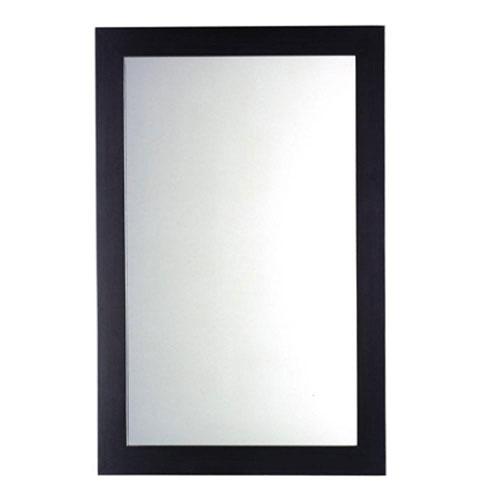 American Standard Cardiff 34 inch L x 22 inch W Rectangular Wall Mirror in Espresso 711649