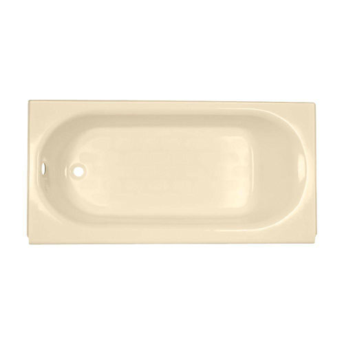 American Standard Princeton 5 foot by 30-inch Left-Hand Drain Soaking Tub in Bone 735544
