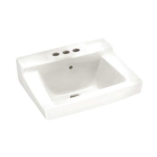 American Standard Declyn Wall-Mounted Bathroom Sink in White 736813