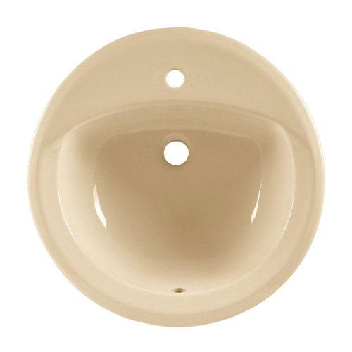 American Standard Rondalyn Self-Rimming Bathroom Sink in Bone 753553