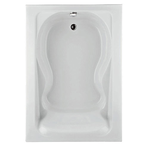 American Standard 2774.002.020 Cadet 6-foot by 42-inch Bath Tub with form Fitted Back Rest, White 77548