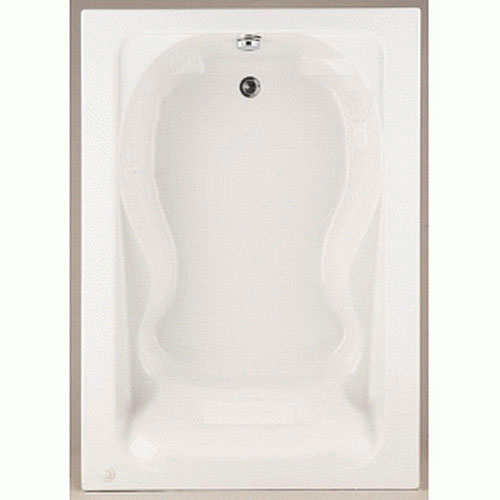 American Standard 2772.002.020 Cadet Bath Tub with form Fitted Back Rest, White 77580