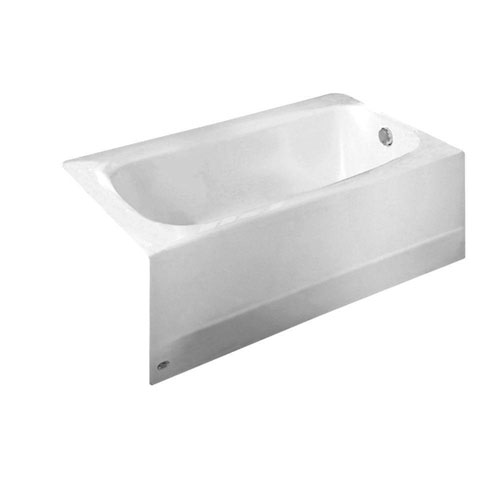 American Standard Cambridge 5 foot Americast Right-Hand Drain Bathtub in White 824977