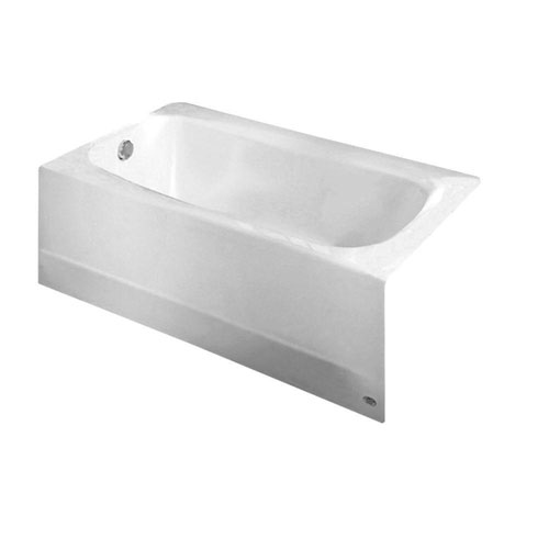 American Standard Cambridge 5 foot Left Drain Bathtub in White 824986