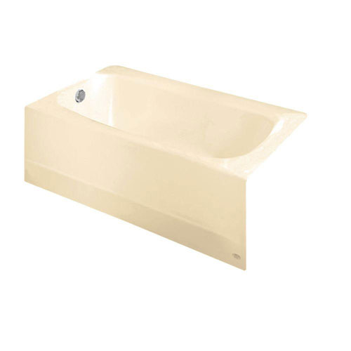American Standard Cambridge 5 foot Americast Bathtub with Left-Hand Drain in Bone 824995