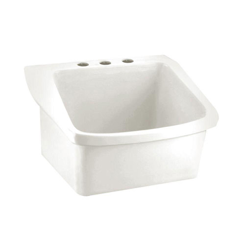 American Standard Surgeon's Wall-Mounted Bathroom Sink in White 832906